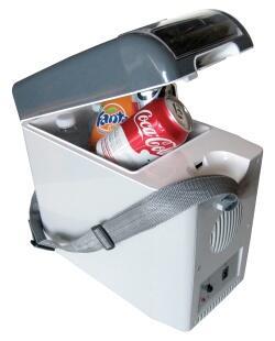 Koolatron B07 Travel Tote Cooler or Warmer with Easy Flip-top Door and Cord Storage