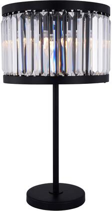 1233TL18MB/RC 1233 Chelsea Collection Table Lamp D:18In H:32In Lt:4 Matte Black Finish (Royal Cut