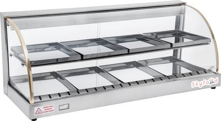 FWD2-43 43 inch  Food Warmer Display Case with Double