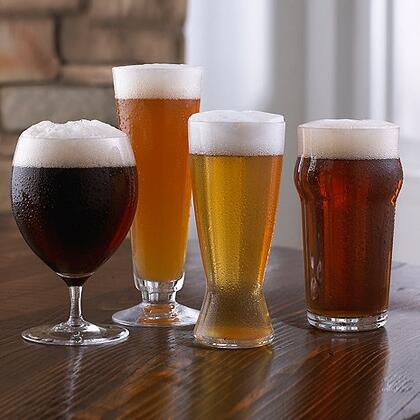 07090304 Fusion Craft Beer Tasting Set (4-Piece