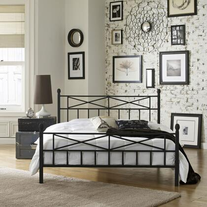 Lafayette Collection MFP01453DB Double Size Platform Bed with Metal Frame and Modern Style in