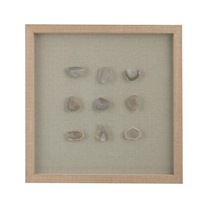 3168-020 Natural Agate Shadow Box Wall