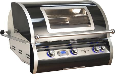 H790i-4E1N-W Echelon Black Diamond Series Natural Gas Built-in Grill with 3 Main Burners with 96000 BTU  Backburner with 13000 BTU  792 Sq. In. Cooking Surface