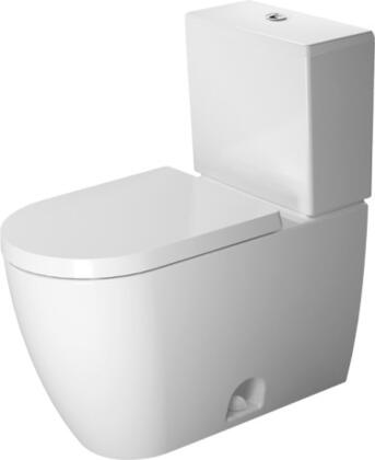 Starck 21710100 2-Piece Toilet with Syphonic  12 inch  Rough-In  Vertical Outlet and cUPC Listed in