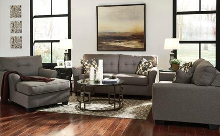 Tibbee 99101-38-35-15 3-Piece Living Room Set with Sofa  Loveseat and Chaise in