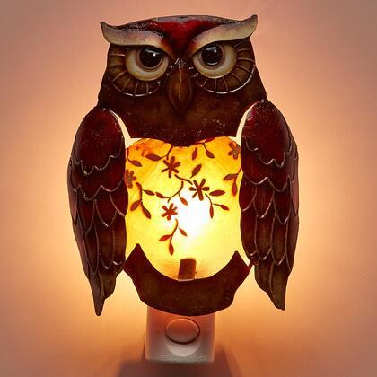 DFA0902 Nightlight Decor - Owl in Brown