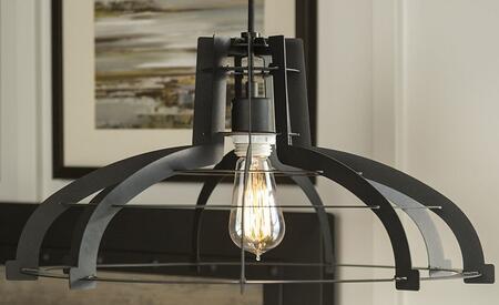 LIP20CLASBL Industrial Classic Slice Hanging Pendant Light Lamp in
