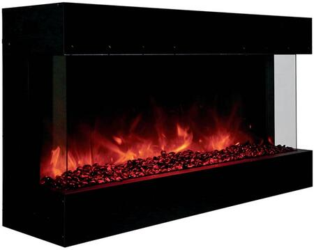 Amantii 50-TRU-VIEW-XL True-View Series Indoor/Outdoor Electric Fireplace, 50 Inch