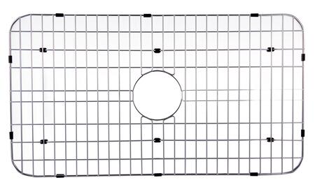 GR533 Protective Grid with Stainless Steel and Durable Plastic Feet in Stainless