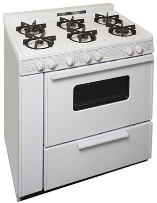 BTK5X0OP 36 inch  Freestanding Gas Range with 6 Sealed Burners  in