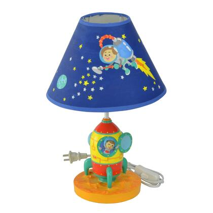 TD12335A Outer Space Hand Painted Kids Table