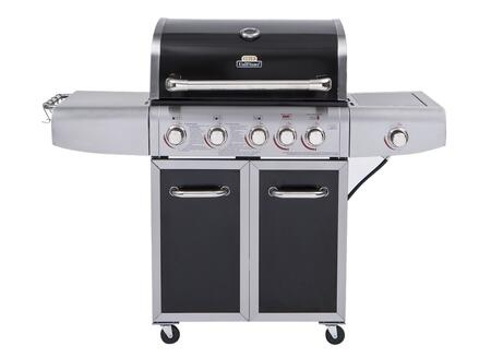 GBC1273SP UniFlame 60 inch  Liquid Propane Deluxe Grill with Stainless Steel Burners  Searing Burner  Rotisserie Burner  and One Side Burner  Up to 72000