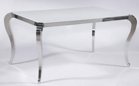Teresa-dt-ovl Teresa Starphire Glass Dining Table Top In Super White Finish And Stainless Steel Base + 4 Oval Back Side