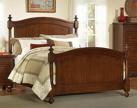 Royal Cherry Bedroom Collection HE-1422-Q-BED 87