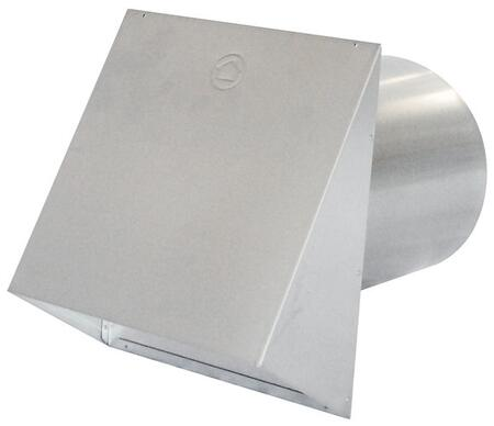 "PWC8R 8"""" Round Duct Metal Wall Cap with"" 157868"