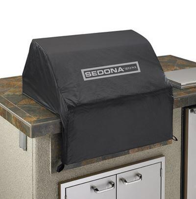 Custom Tailored Fit Sedona VC500 Vinyl Cover for L500 Series Built In Unit with Felt Lining  Pocket Seams and Nylon Finger