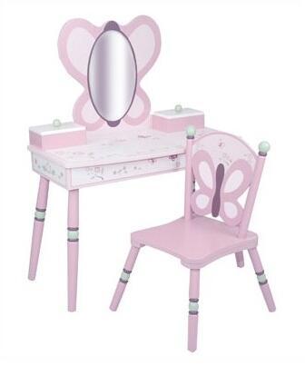 LOD70006 Sugar Plum Vanity & Chair