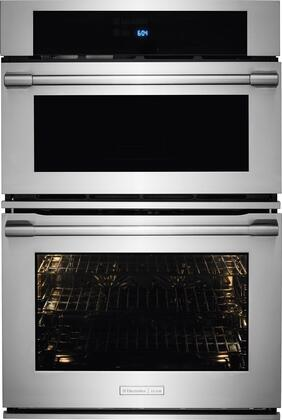 E30MC75PPS 30 inch  Electric Microwave Combination Oven with Wave-Touch  Controls  CustomConvect   Convection Technology   inch My Favorite inch  Settings and Temperature