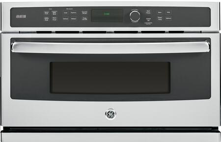 GE Profile Series Advantium 240V 1.7 Cu. Ft. Built-In Microwave Stainless Steel PSB9240SFSS