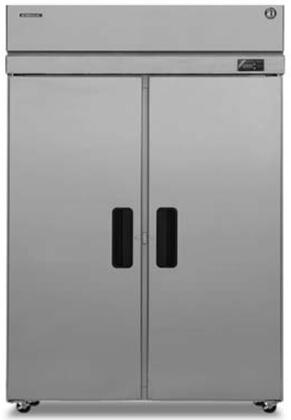 "PTR2SSE-FSFS 55"" Professional Series Pass Thru Refrigerators with 51.30 cu. ft. Capacity  6 Adjustable Shelves  EverCheck System  Stainless Steel Exterior and"