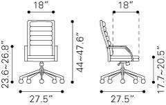 205327 Director Comfort Office Chair