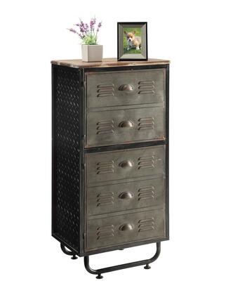 140209 Industrial Collection Locker Collection 2 Door
