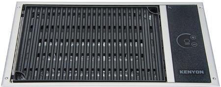 B70063 Built-In No Lid Electric Grill with 155 sq. in. Cooking Area  1 Burner  Marine Compatible  and 7 Minute Preheat  in Stainless