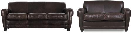 Havana Collection 61403E3066SL 2-Piece Living Room Set with Sofa and Loveseat in Classic