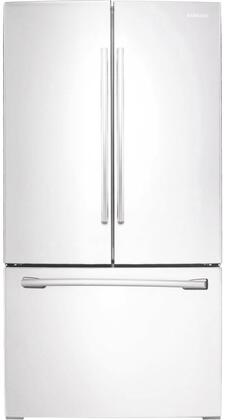 "RF261BEAEWW 36"" Energy Star Rated French Door Refrigerator with 25.5 cu. ft. Capacity  Internal Filtered Water  Twin Cooling Plus  LED Lighting  Power Freeze &"