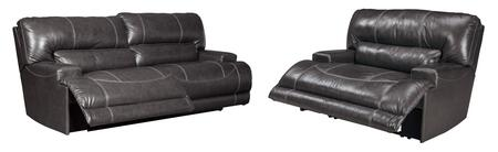 McCaskill Collection U60900-81-52 2-Piece Living Room Sets with Motion Sofa  and Recliners in