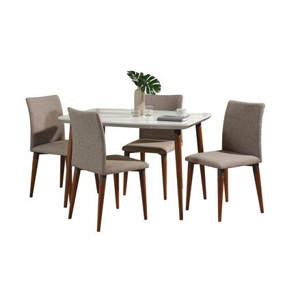 2-10128511011453 5-Piece Charles Dining Set with 45