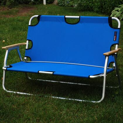 772625 44 inch  SportCouch - Two-Person Folding Aluminum Chair with Royal