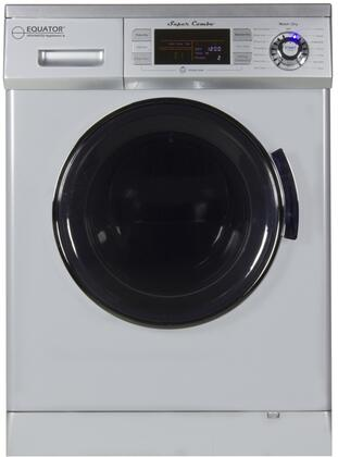 Equator 1.6 Cu. Ft. 7-Cycle Washer and Dryer Combo Silver EZ 4400 CV SILVER
