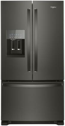 Whirlpool WRF555SDHV 36 Inch Freestanding French Door Refrigerator with 24.7 cu. ft. Total Capacity