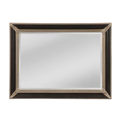 MW5800C-0044 Kingsdale Mirror in Aged Sterling  Ebony Crackle