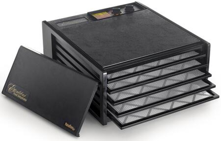 3526TB Deluxe Series Dehydrator with 5 Trays  8 Sq. Ft. of Drying Area  Adjustable Thermostat  26 Hour Timer  and 10 Year Limited Warranty in: