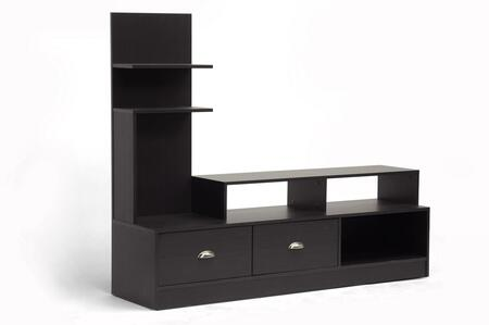 FTV-906 Baxton Studio Armstrong Modern Tv Stand  In Dark
