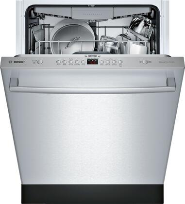 "Bosch 24"" Front Control Built-In Dishwasher with Stainless Steel Tub Stainless steel SHXM4AY55N"