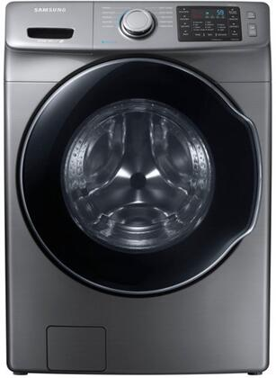 "WF45M5500AP 27"" Front-Load Washer With 4.5 cu. ft. Capacity DOE  Steam Wash  VRT Plus Technology  Steam Wash  Self Clean  Smart Care  Child Lock  Delay End  in"