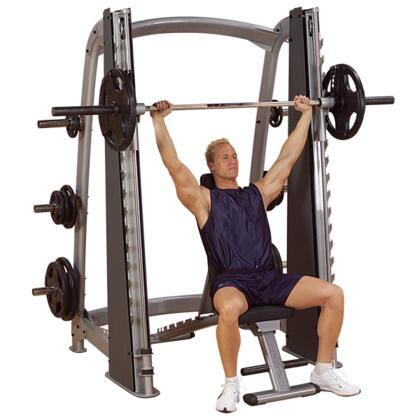 SCB1000 ProClub Counter Balanced Smith Machine with 11-Gauge Steel Tubing and 1000-Pound Weight