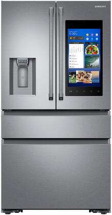 "RF23M8590SR 36"" Counter-Depth French Door Refrigerator with Family Hub  22.2 cu. ft. Capacity  FlexZone  Exernal Ice and Water Dispenser  and Auto Water Fill"