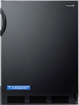 FF6B7ADA 24 inch  FF67ADA Series Energy Star  ADA Compliant  Commercial  Medical Freestanding Compact Refrigerator with 5.5 cu. ft. Capacity  Hidden Evaporator