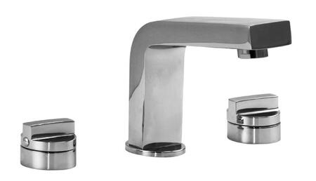 28016-28073-WH Hey Joe 5-1/4 inch  Widespread Lavatory Faucet w/ Knob Handles in