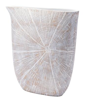 A10540 White Poly Jar Large Antique