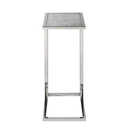 DSD191250 Contemporary Rectangular Glass Side Table In