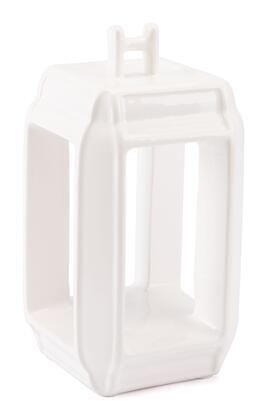 A10497 Japanese White Candle Holder Large