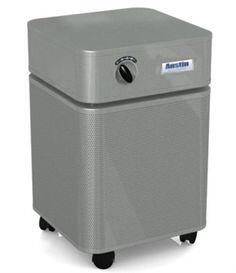 "HealthMate B400D1 23"""" Air Purifier with Perforated Steel Intake Housing  60 sq. ft. Capacity and True HEPA Filter in"" 890139"