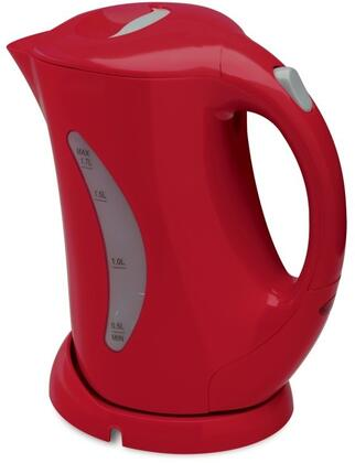 JK1439 1.7 Liter Cordless Electric Jug Kettle with Stainless Steel Heating Element  Hinged Lid and Automatic Safety Shut Off in