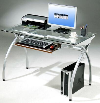RTA-00397B-GLS Techni Mobili Glass-Top Computer