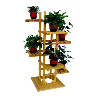 PS6116 6-Tier Wooden Pedestal Plant